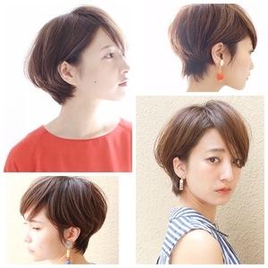 『後頭部の丸みが素敵♪』 美シルエット☆大人のショートスタイル