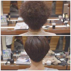 【ex 01:くせ毛レベル8】「え?本当に同じ人?」人生を変えた縮毛矯正