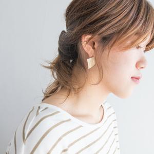 おくれ毛を可愛く見せる☆パーマスタイル×プチレイヤーで簡単おしゃれアレンジ!!