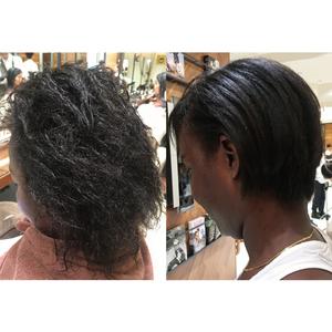 【ex 06 :くせ毛レベル???】史上最強のくせ毛を縮毛矯正。その驚くべき施術内容とは?