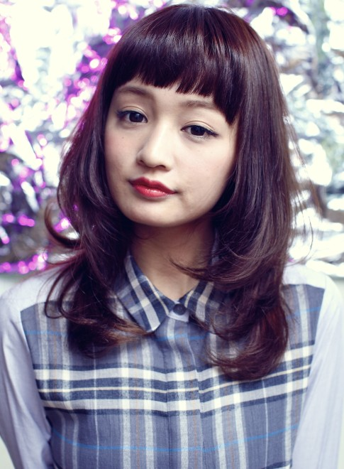 【DECO】ラズベリー☆ツヤミディ(髪型ミディアム)