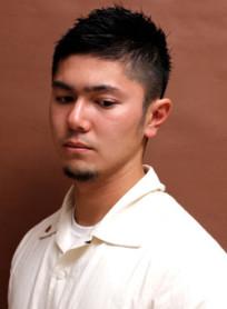 男のワイルドショート(髪型メンズ)