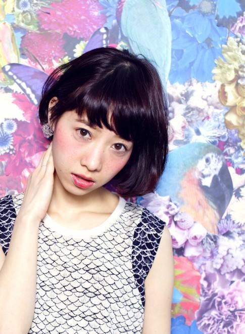 【DECO】flower×大人美髪ボブ(髪型ボブ)