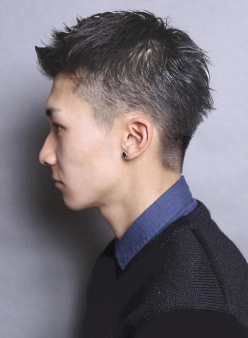 ネオソフトモヒカンショート(髪型メンズ)