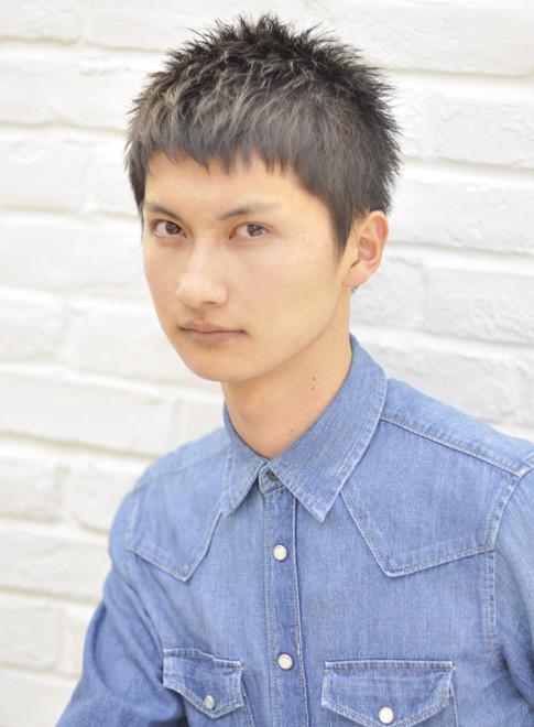 爽やかベリーショート(髪型メンズ)