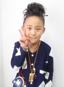 お祭りセット(髪型ミディアム)