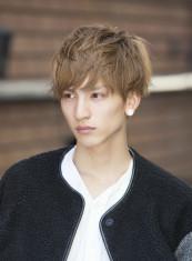 外国人風柔らかパーマ(髪型メンズ)