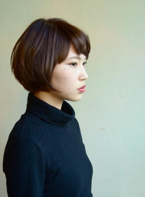 【DECO】アンニュイショートボブ(髪型ショートヘア)