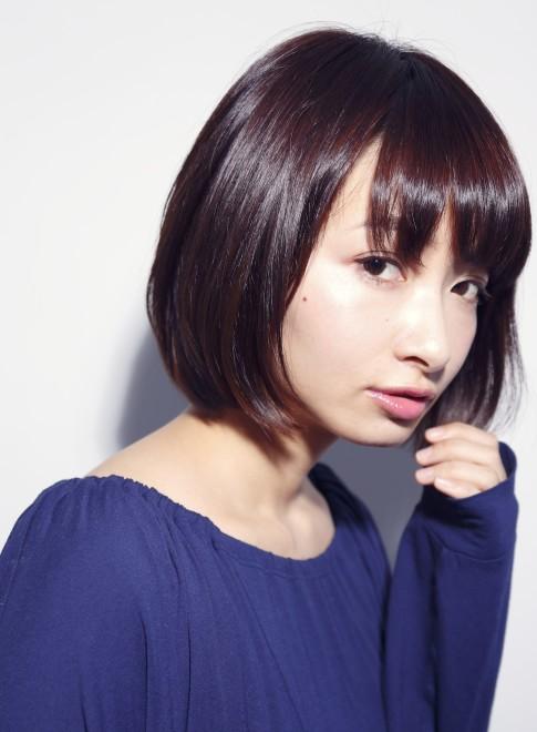 【DECO】シンプルツヤモードボブ(髪型ボブ)