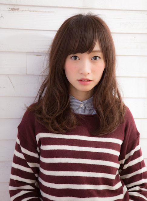 重軽ニュアンスパーマ セミロング☆(髪型ロング)