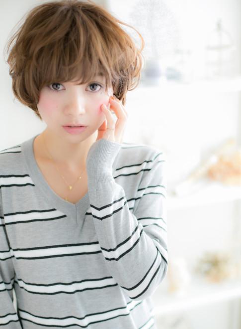≪甘辛MIXスタイル≫カジュアルマッシュ(髪型ボブ)