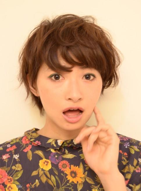 【DECO】アンニュイマッシュウェーブ(髪型ショートヘア)