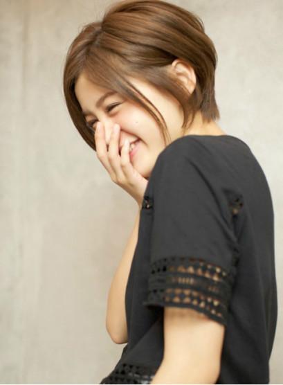 美シルエット☆大人可愛いエレガントふわり(髪型ボブ)