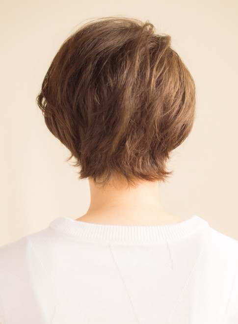 辺見えみり風大人のスタイリッシュショート(髪型ショートヘア)