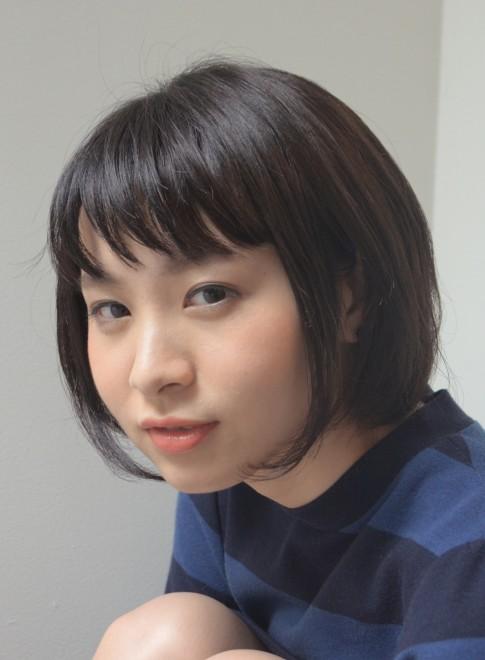 【DECO】小顔ボブ×ショートバング(髪型ショートヘア)