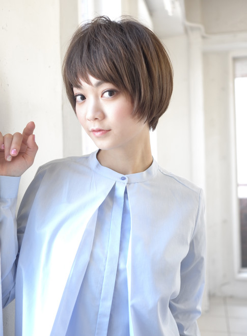 コンパクトにキマる大人ショートPHASE(髪型ショートヘア)