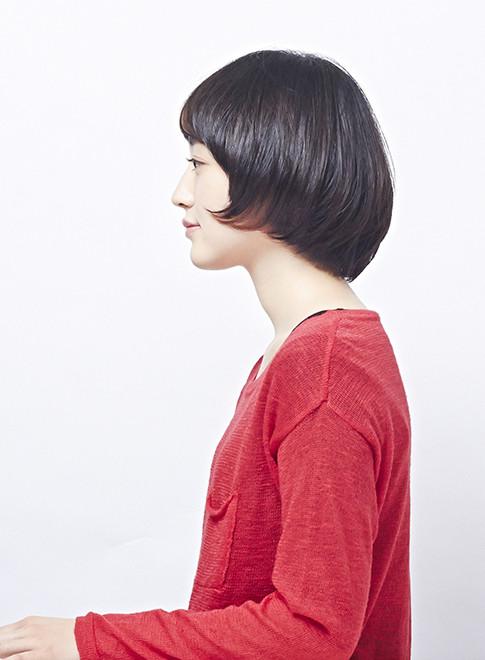ミニマムな大人のマッシュショート(髪型ショートヘア)