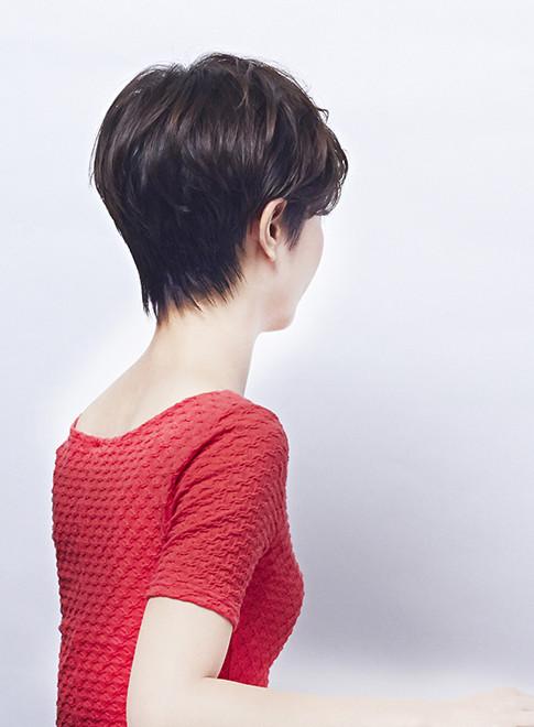 ノームコア大人のショートボブ(髪型ショートヘア)