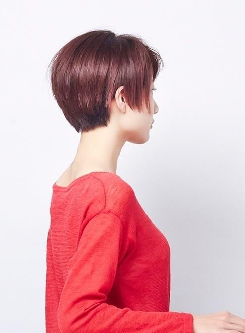 大人のコンパクトショートボブ(髪型ショートヘア)