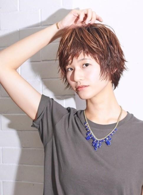 オトナの女子ショートボブ(髪型ショートヘア)