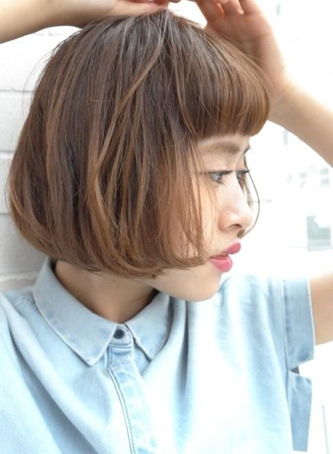 大人のグラマラスボブ(髪型ボブ)