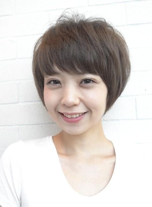 大人の似合わせカットスタイル(髪型ショートヘア)