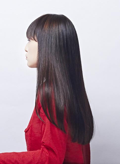 艶サラサラストレート(縮毛矯正)(髪型ロング)
