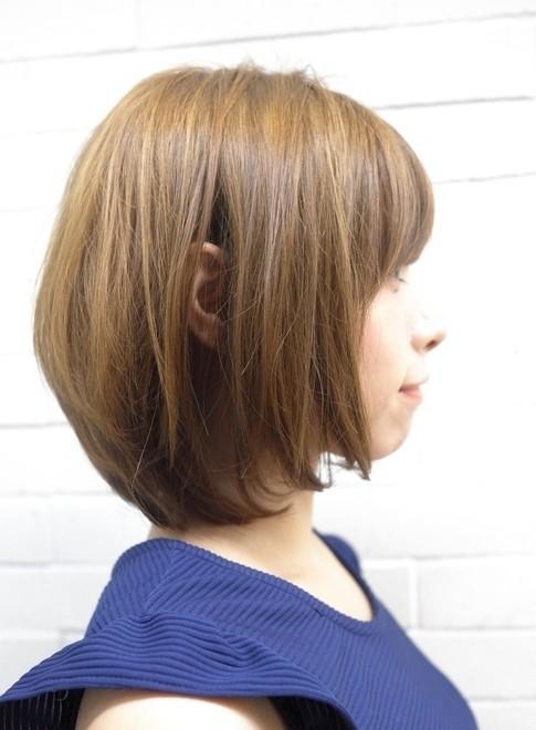 艶のある綺麗な大人ミディアムスタイル(髪型ミディアム)