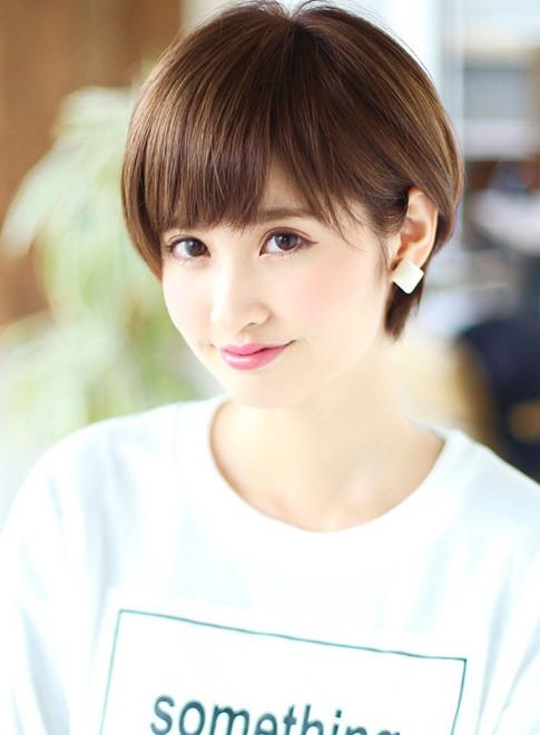かわいいショート(髪型ショートヘア)