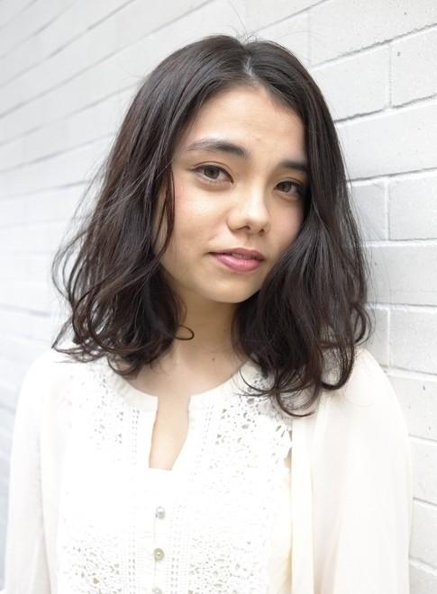 大人のエレガントパーマ・ボブスタイル!(髪型ミディアム)