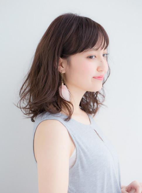 2016春夏メルティウェーブ(髪型ミディアム)