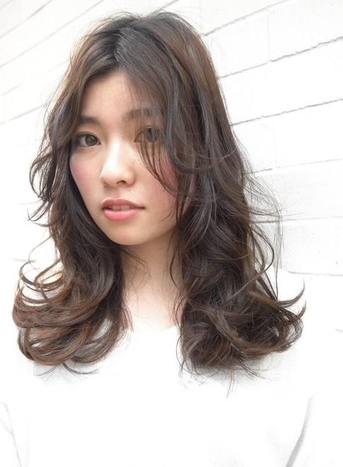 オシャレな大人のデジタルパーマスタイル☆(髪型ロング)