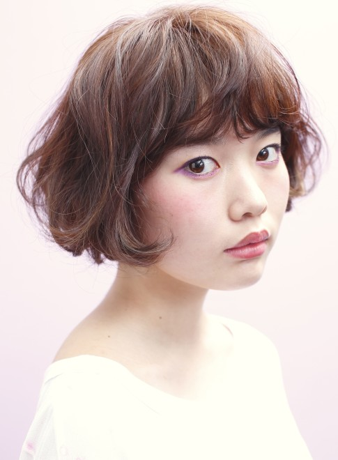 エアリー*スプリングボブ(髪型ボブ)