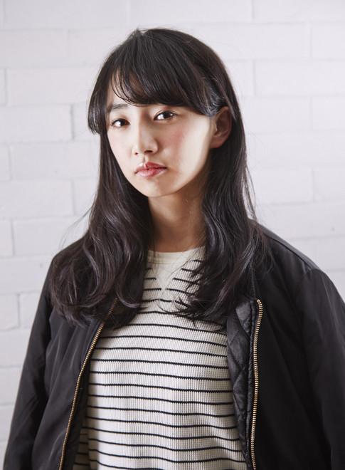 大人カジュアルな美髪ロング(髪型ロング)