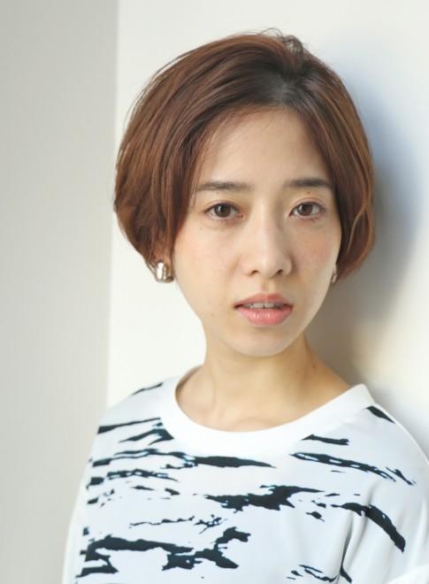 リラックス大人ショートボブ(髪型ショートヘア)