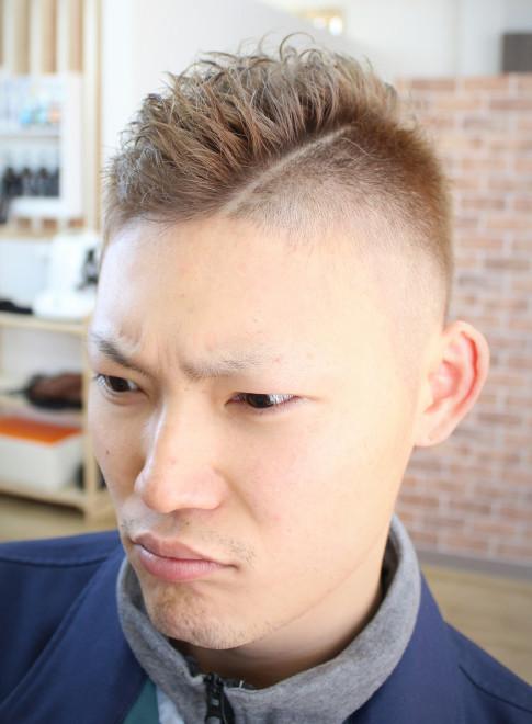 やんちゃベリーショート(髪型メンズ)