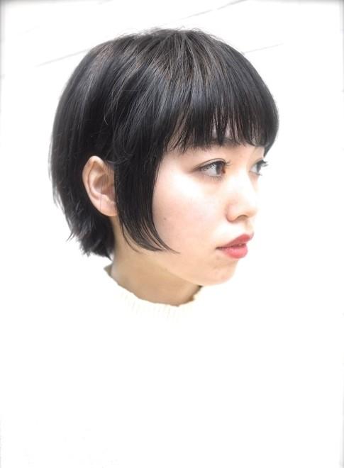 艶のある大人綺麗なショートボブスタイル(髪型ボブ)