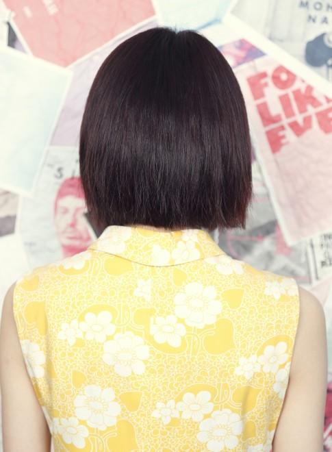 スプリングストレートボブ(髪型ボブ)