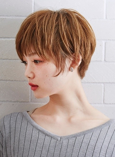 大人可愛い人気のショートボブ(髪型ショートヘア)