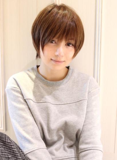 大人女子・田中美保さん風ショート(髪型ショートヘア)