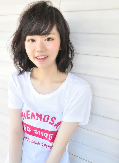 ミディアムショート(髪型ミディアム)