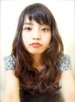 「アシメ パーマ ヘア ロング」の髪型・ヘアスタイル・ヘアカタログ情報(2件)