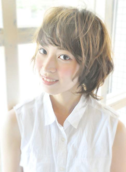 ATTA ショートカールスタイル(髪型ショートヘア)