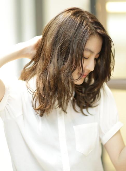 デジタルパーマで大人スタイルに☆(髪型ミディアム)