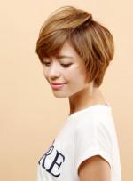 クールなハイトーンショート(髪型ショートヘア)