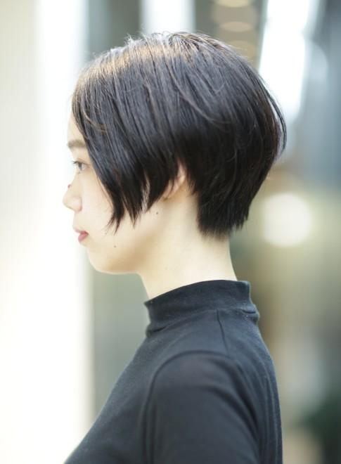 大人の素敵なショートボブ◎(髪型ショートヘア)