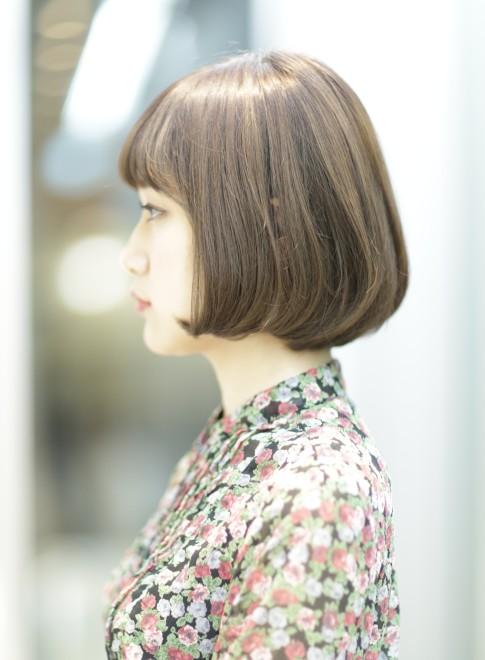 大人の内巻きボブ◎艶髪・美髪スタイル!!(髪型ボブ)