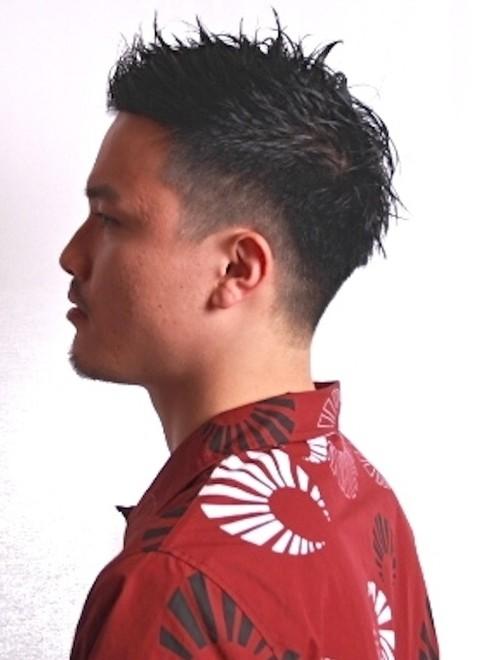 メンズ 髪型 ルード
