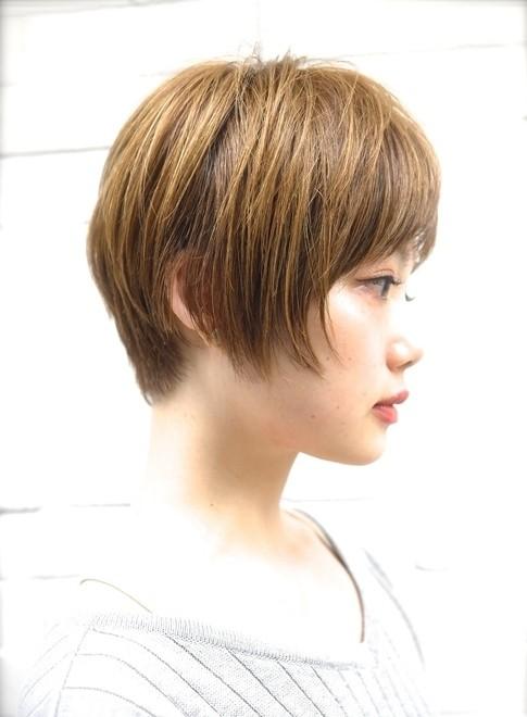 大人可愛いショートボブ◎似合わせカット(髪型ショートヘア)