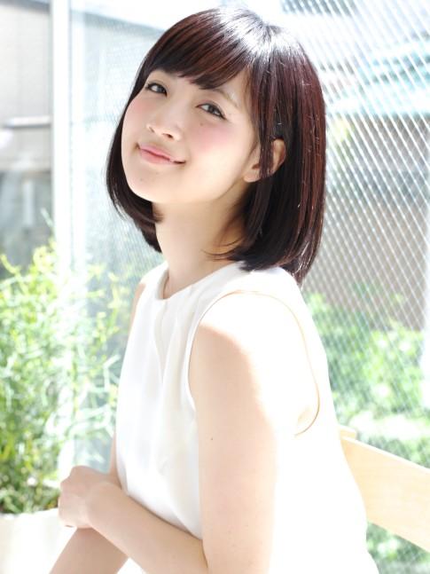 【大人かわいい】小顔ボブ☆(髪型ミディアム)